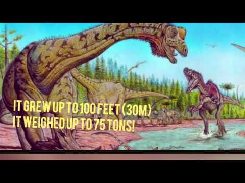 Top 10 Biggest Sauropods!