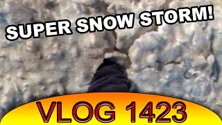 Big Snow Storm, New Stuff for Vlogs
