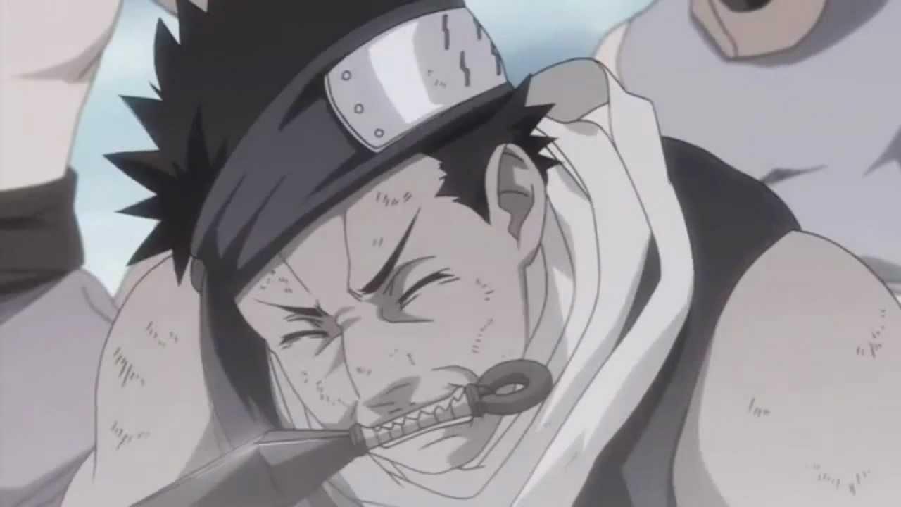 Naruto Generations Cut scene Zabuza & Haku's DEATH - YouTube Zabuza Momochi Face
