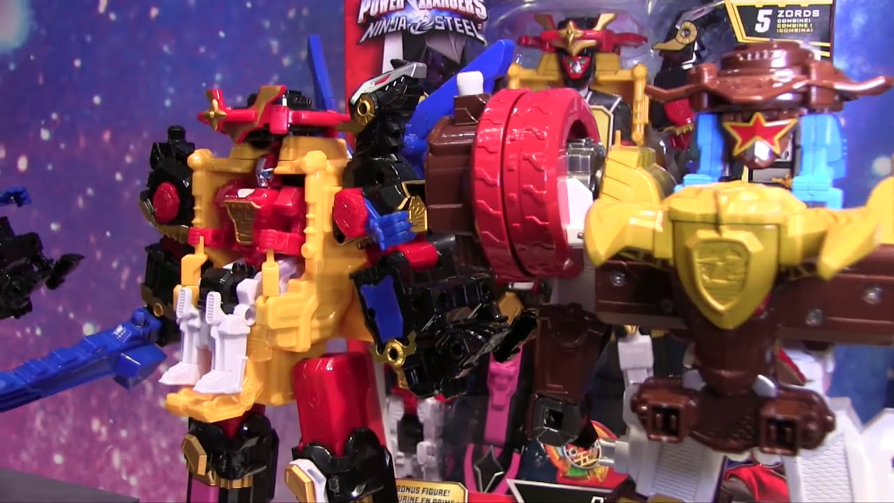 Power Rangers Ninja Steel Juguetes Toy Fair 2017 juegos juguetes