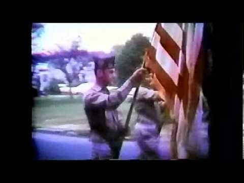 Stafford Founders Day Parade 1970 - no sound