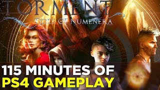 Torment: Tides of Numenera - 115 Minutes of PS4 GAMEPLAY