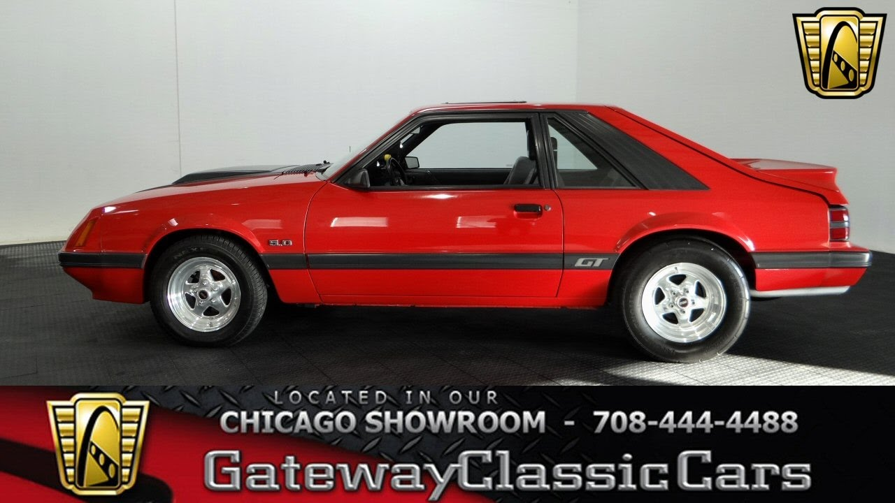 1985 Ford Mustang GT Gateway Classic Cars Chicago #1146 - YouTube