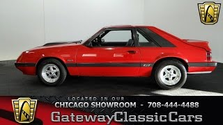 1985 Ford Mustang GT Gateway Classic Cars Chicago #1146