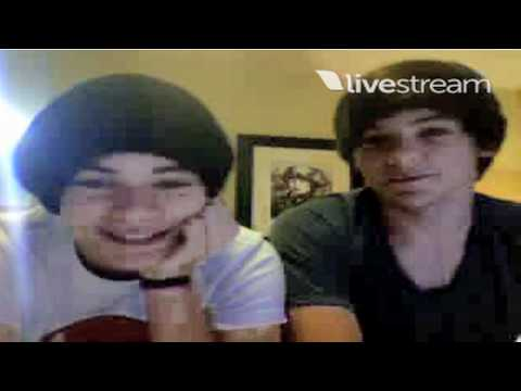 Harry Styles and Louis Tomlinson Twitcam part 2