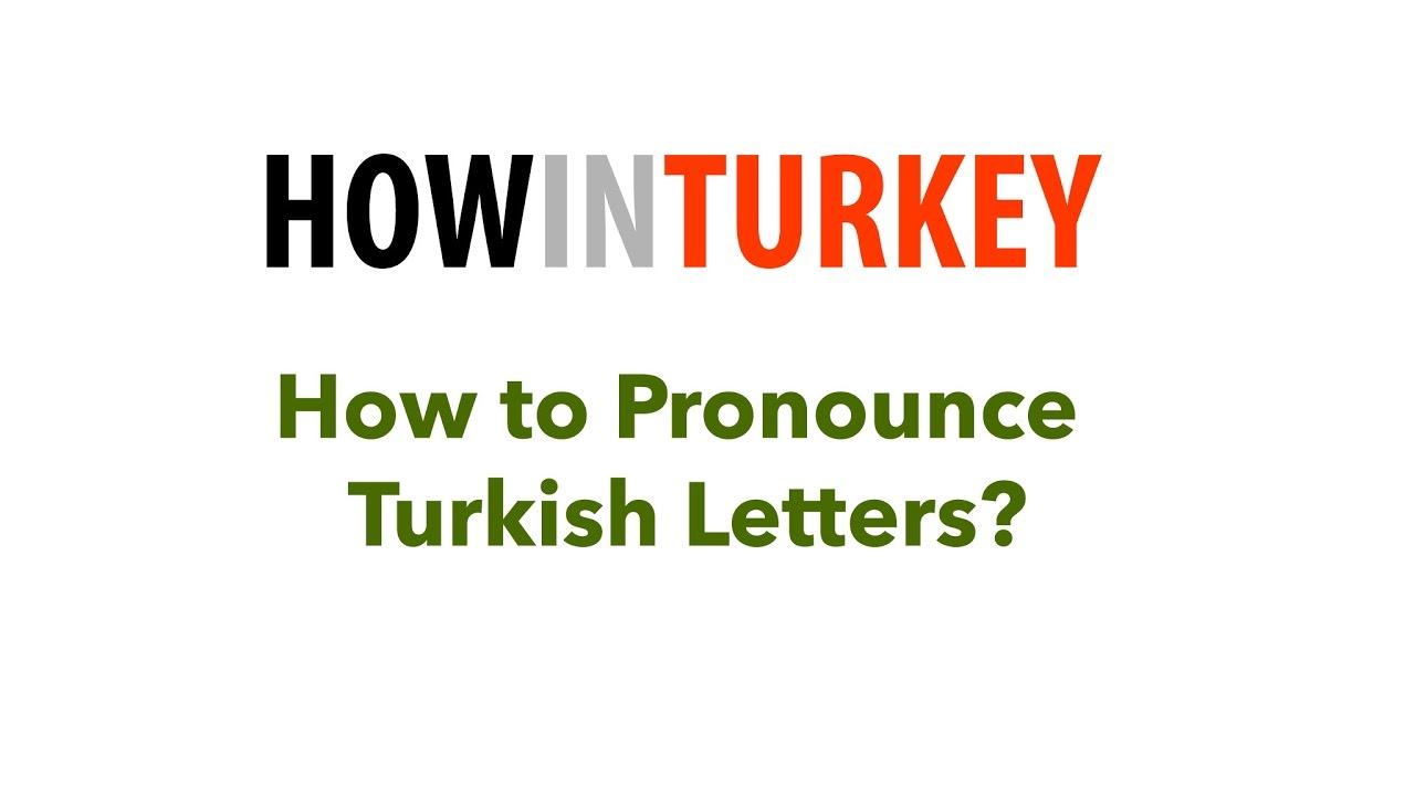 turkish letters