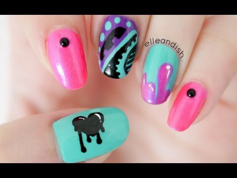 ✘  Graffiti Nails ✘