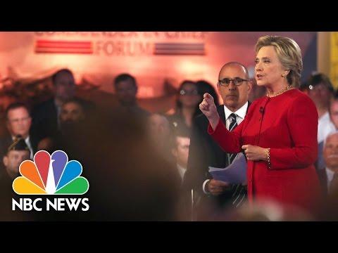 Hillary Clinton Participates In Commander-In-Chief Forum (Full) | NBC News