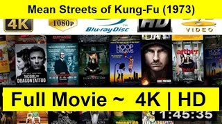 Mean Streets of Kung-Fu Full Length