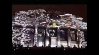 Новогоднее лазерное шоу в Санкт-Петербурге 01.01.2013