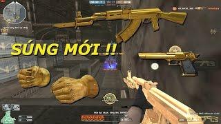Bình Luận CF : AK-47-Knife DMZ Gold, Gold Fist - Tiến Xinh Trai Zombie V4