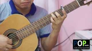 Strawberry Fields Forever - The Beatles (solo guitar cover)