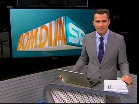 """Estreia de Rodrigo Bocardi e despedida de Carla Vilhena do """"Bom Dia São Paulo"""" (06/05/13)"""
