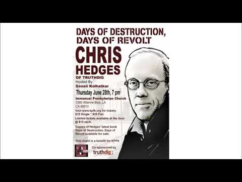 Chris Hedges, The Death of the Liberal Class, Introduction (1)