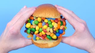 GIANT CANDY SANDWICH!
