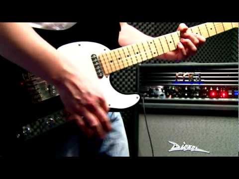 G&L Tribute Asat Classic Guitar Test