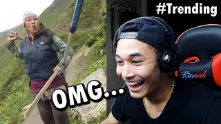REACTING TO NEPALI WOMAN vs BRITISH TOURIST!