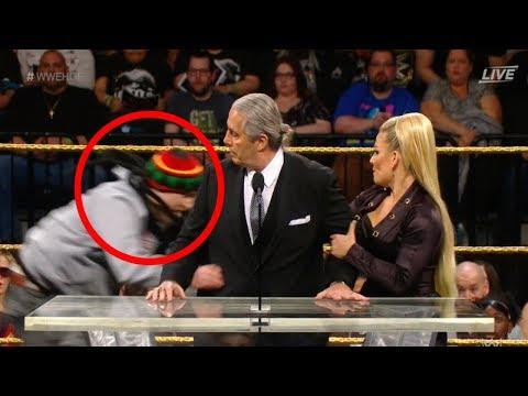 Super Martinez - Luchador Retirado de WWE Bret The Hitman Hart Agredido por un Fanático