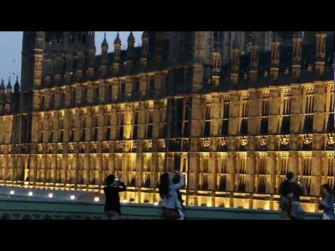 Palace of Westminster in Night - HD
