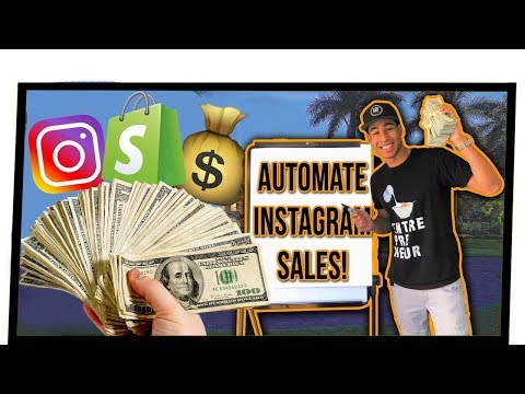 DROPSHIPPING: Instagram Influencer & Growth Hack Software To Automate Shopify Sales (GAMECHANGER)