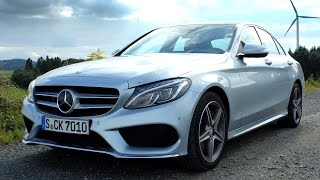 ' 2014 / 2015 Mercedes-Benz C-Class ( W205 ) ' Test Drive & Review - TheGetawayer