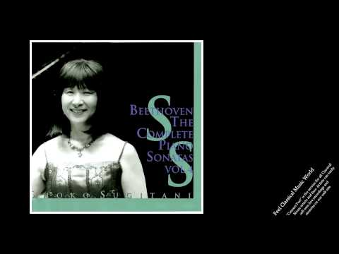 Shoko Sugitani: Beethoven Piano Sonatas Vol.4