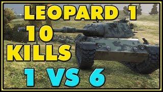 World of Tanks | Leopard 1 - 10 Kills - 9.3K Damage