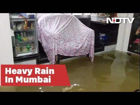 Mumbai Rain: Inside