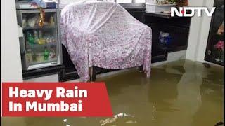 Mumbai Rain: Inside A Flooded House