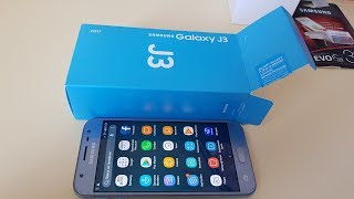 Распаковка Samsung Galaxy J3 2017 / Обзор / Review of Samsung Galaxy J3 2017 / Unpacking