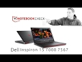 Dell Inspiron 15 7000 7567 Gaming Notebook Review 8/10 (GTX 1050 Ti)