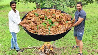 SAW THIS BEFORE ?? SMOKED CHICKEN FRY IN THE WILD | RANGERS STYLE COOKING |