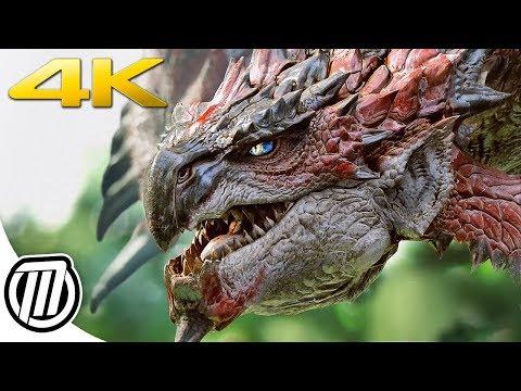 Monster Hunter World 4K PC Gameplay & Performance Review