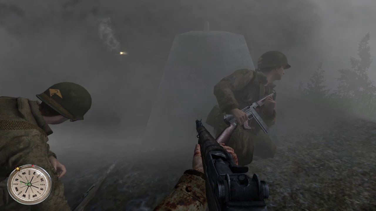 Call of Duty 2 With WCP Mod - One of the Best Mods Made for Call of Duty 2