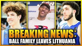 THE BALL FAMILY ARE LEAVING LITHUANIA! | WHERE WILL LAMELO & GELO PLAY NEXT SEASON?