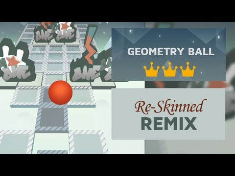 Rolling Sky - Geometry Ball (ReSkinned Version) ft. Remix | SHA