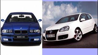 BMW M3 E36 & GOLF 5 GTI Tuning