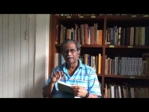 Tamil scholar reads Sumerian text.