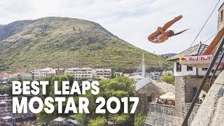 Best Leaps from a UNESCO World Heritage | Red Bull Cliff Diving Mostar 2017