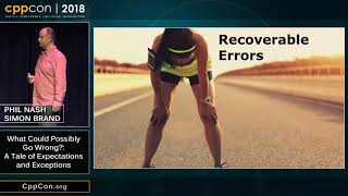 """CppCon 2018:  Brand & Nash """"What Could Possibly Go Wrong?: A Tale of Expectations and Exceptions"""""""