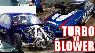 UNLIMITED BUDGET, 3500hp Twin Turbo vs Supercharger dyno showdown!