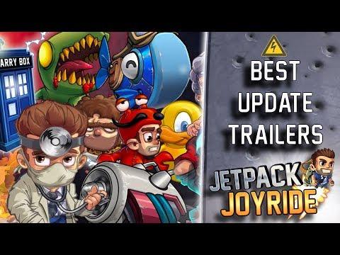 Jetpack Joyride - Best Update Trailers Compilation
