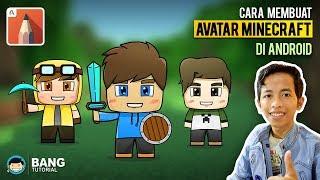 Cara Machen Avatar Cartoon Minecraft di Hp Android | Autodesk SketchBook Tutorial #3