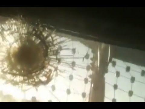 how to break bullet proof glass