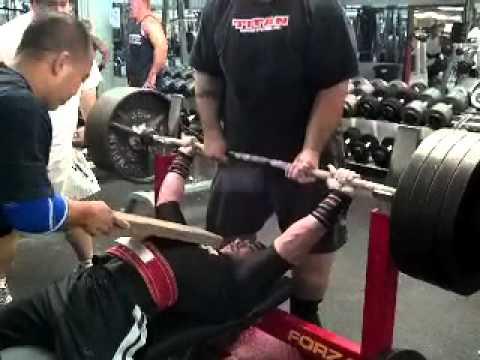 Ronald Nipp 148 lb world gym Honolulu single ply 465 to 1 board Jr mens