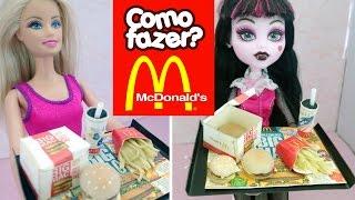 Mini Hambúrguer do McDonald