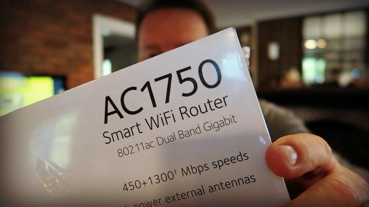 Netgear AC1750 Smart WiFi Router For Faster Internet