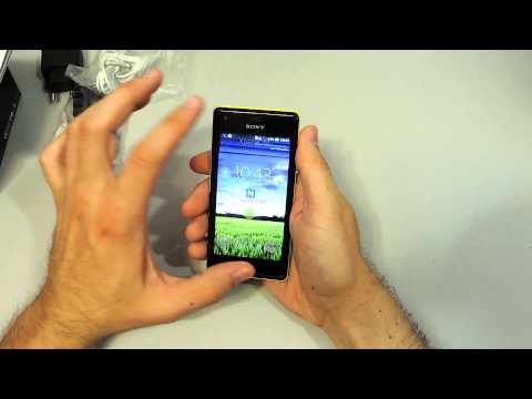 Обзор Sony Xperia M C1905