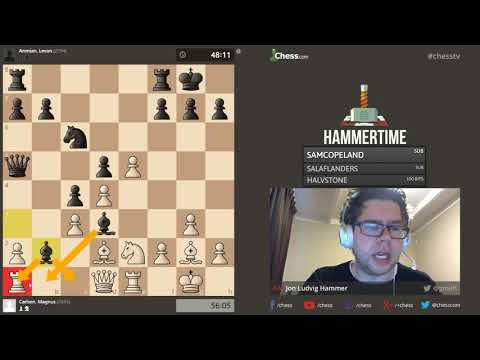 Coverage of Carlsen-Aronian from Grenke Chess Tournament 2018