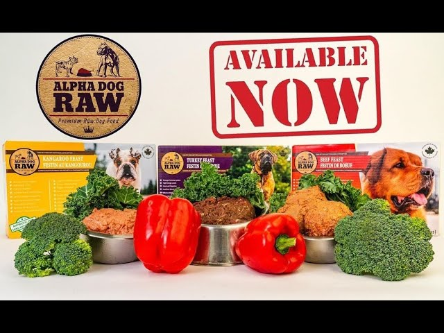 All New Alpha Dog Raw Diet